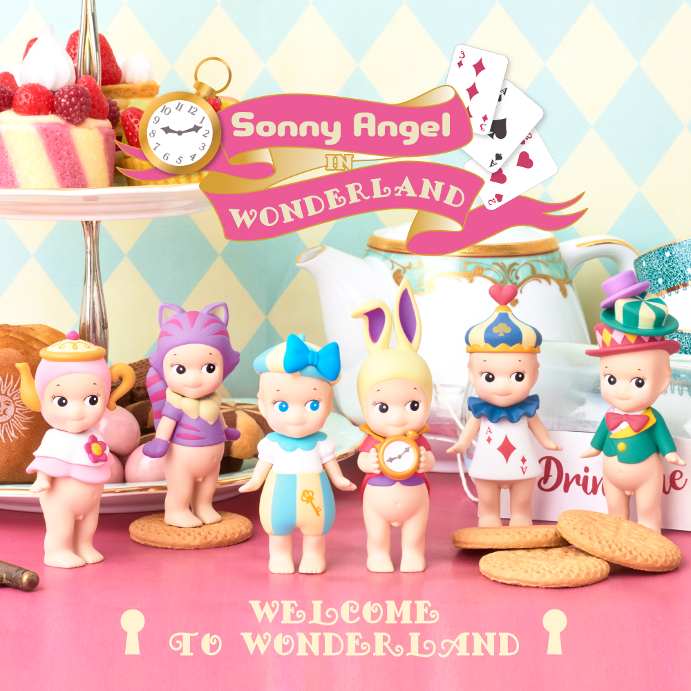 [NEWS] Sonny Angel in Wonderland 🐰🌈 Coming July